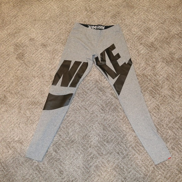 3947de637ef0b Nike Pants | Womens Legasee Exploded Logo Leggings | Poshmark